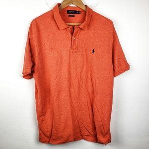 Polo Ralph Lauren | Orange Casual Mens Polo XXL